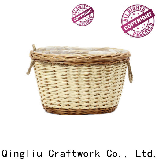 Yimeng Qingliu outdoor wicker planter pots for business for garden