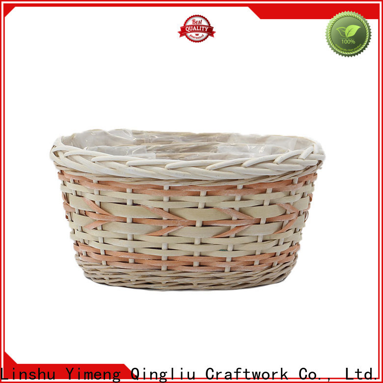 Yimeng Qingliu outdoor wicker plant pot manufacturers for indoor