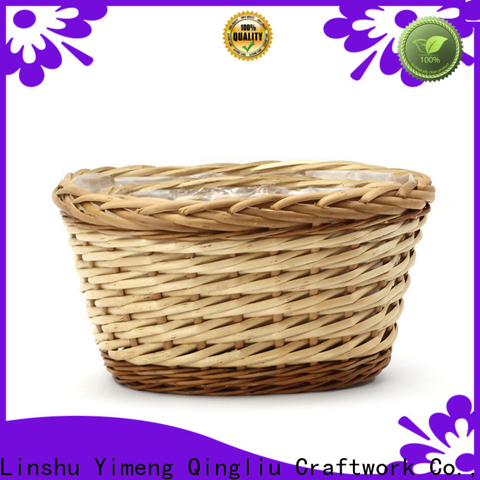 Yimeng Qingliu wholesale large wicker plant basket suppliers for indoor