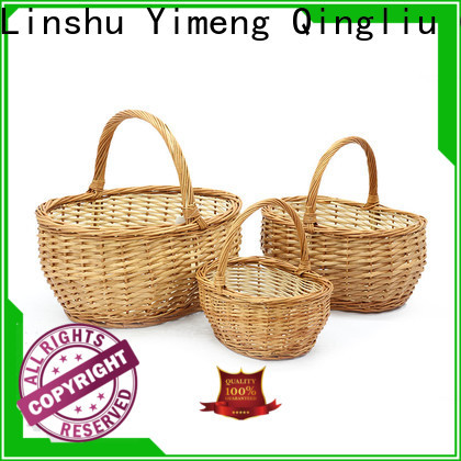 Yimeng Qingliu cane basket suppliers for gift