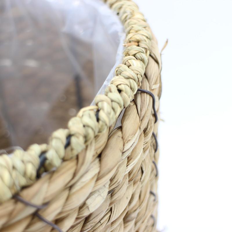 Yimeng Qingliu New woven seagrass basket manufacturers for garden-1