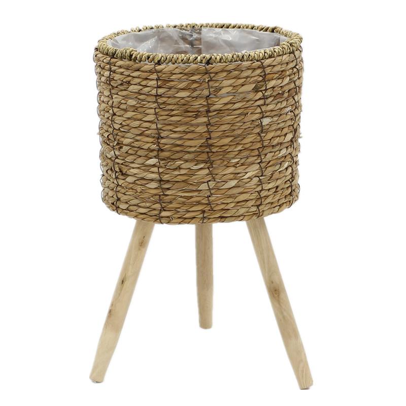 Yimeng Qingliu New woven seagrass basket manufacturers for garden-2