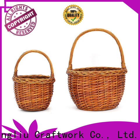 latest wicker market basket supply for present