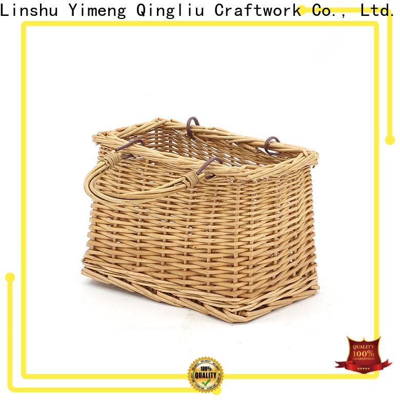 custom wicker market basket company for boy