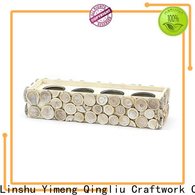 Yimeng Qingliu best big wooden flower pots manufacturers for outdoor