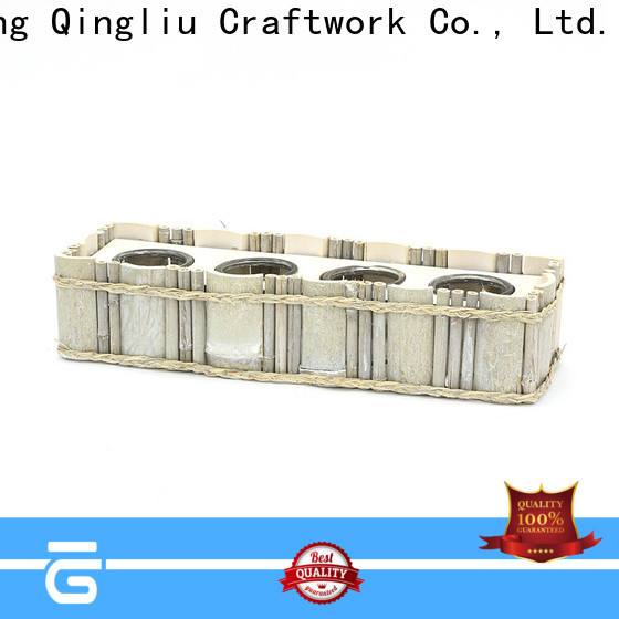 Yimeng Qingliu round wooden planters supply for outdoor