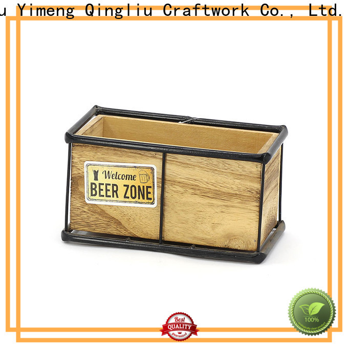 Yimeng Qingliu wooden flower pots wholesale supply for outdoor