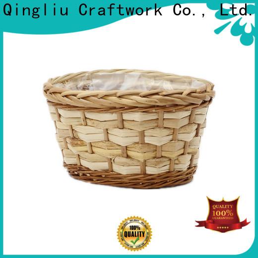 Yimeng Qingliu top small wicker plant pot manufacturers for outdoor