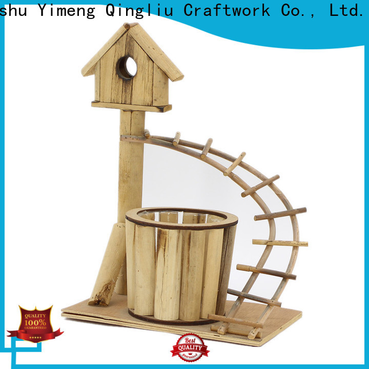 wholesale square wooden planters suppliers for outdoor