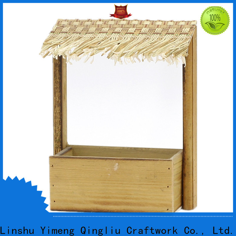 Yimeng Qingliu high-quality contemporary wooden planters for sale for patio