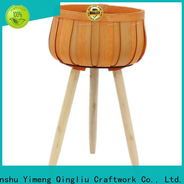 Yimeng Qingliu New square wooden planters manufacturers for garden