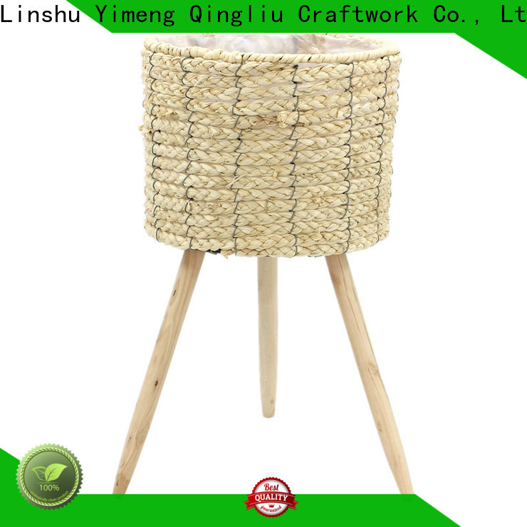 Yimeng Qingliu high-quality seagrass hanging planter supply for outdoor