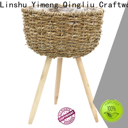 Yimeng Qingliu custom seagrass pots suppliers for outdoor