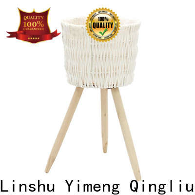 Yimeng Qingliu wholesale large seagrass plant basket for business for garden
