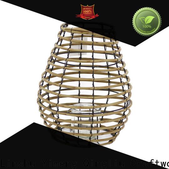 Yimeng Qingliu rattan lantern outdoor for sale for garden