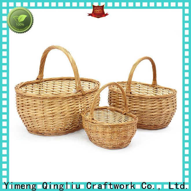 New snack baskets manufacturers for outside