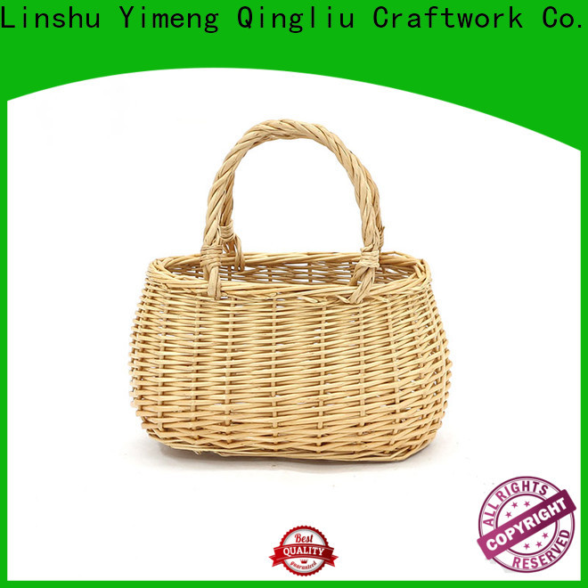 Yimeng Qingliu best round willow basket suppliers for shopping