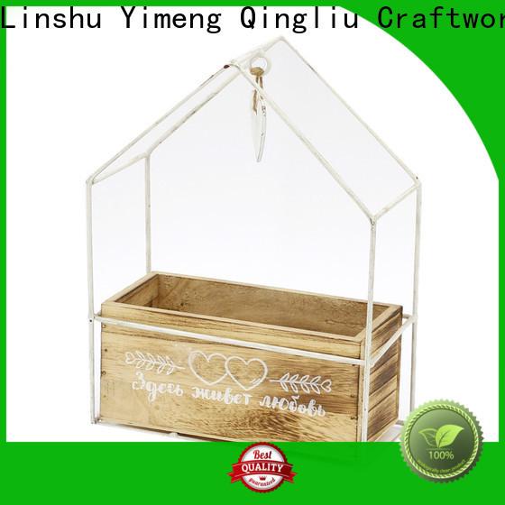 Yimeng Qingliu wholesale bespoke wooden planters supply for patio