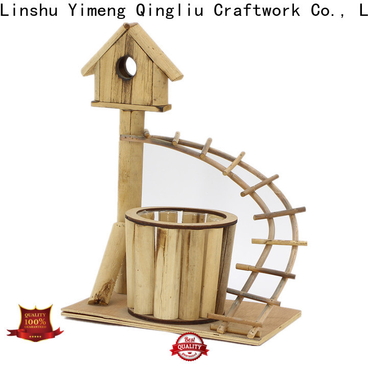 Yimeng Qingliu quality wooden planters supply for outdoor