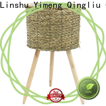 Yimeng Qingliu large seagrass planter suppliers for patio