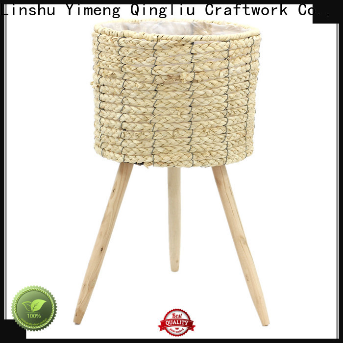 Yimeng Qingliu custom seagrass hanging planter company for outdoor