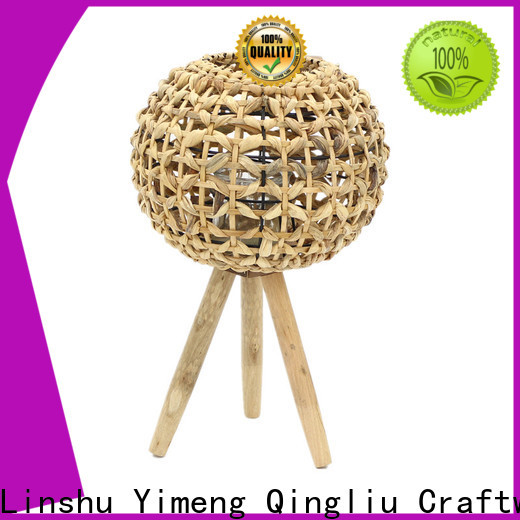latest rattan hurricane lantern company for outdoor