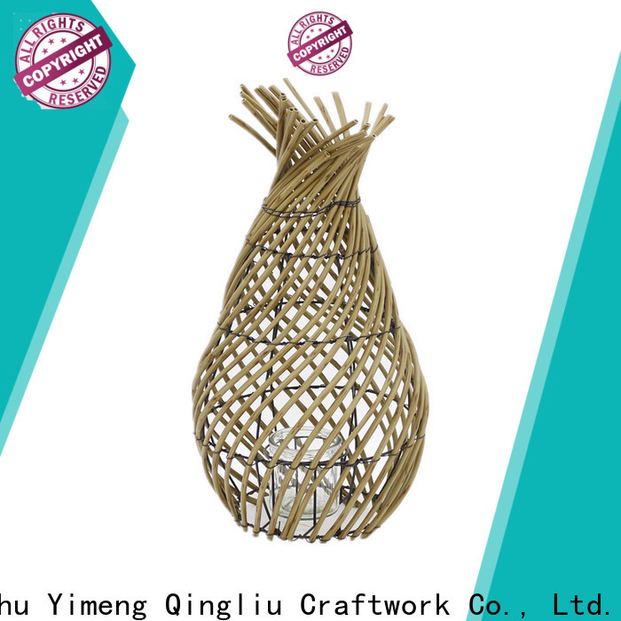high-quality large willow lantern factory for outdoor