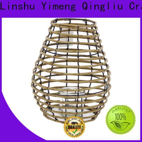 Yimeng Qingliu wicker lantern manufacturers for garden
