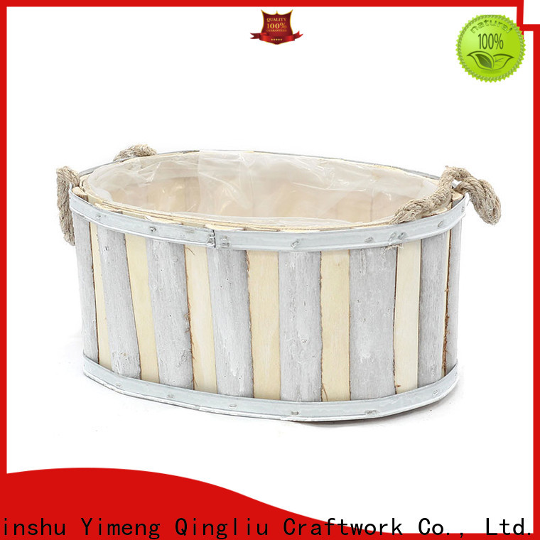 Yimeng Qingliu top decorative wooden planters for business for outdoor
