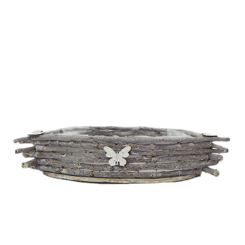 custom round wooden planters supply for outdoor-2