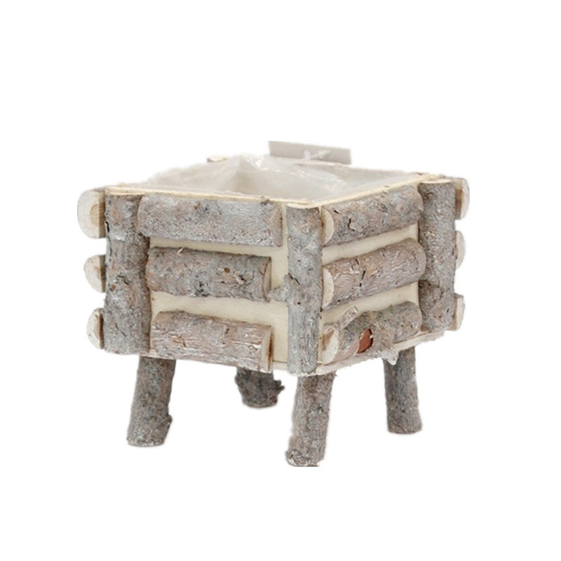 Yimeng Qingliu custom wooden planters factory for outdoor-2