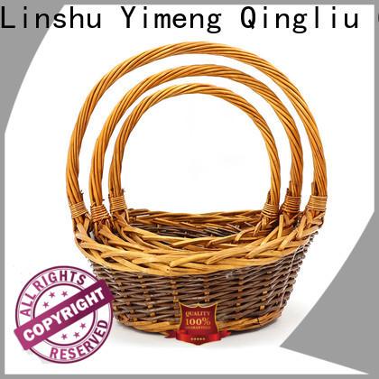 Yimeng Qingliu tiny wicker baskets suppliers for woman