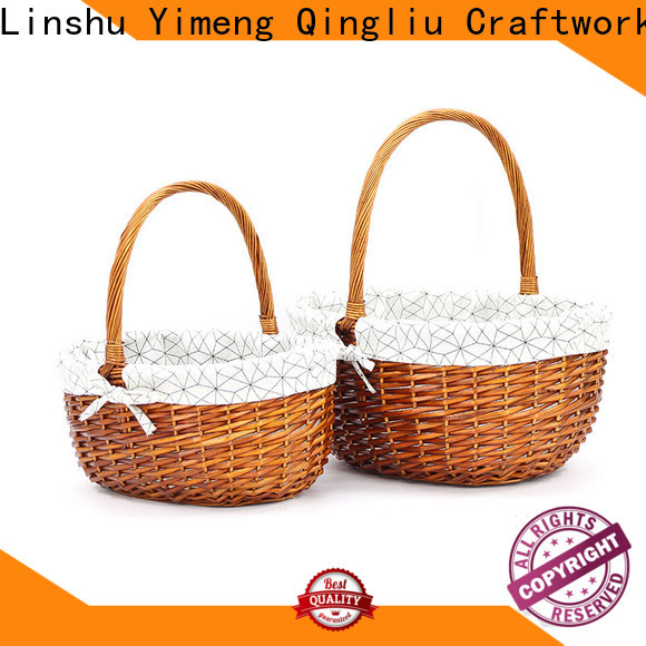 Yimeng Qingliu latest wicker baskets for sale for business for woman