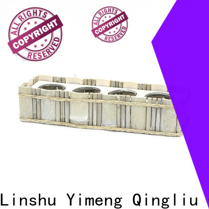 Yimeng Qingliu wooden planters round supply for outdoor