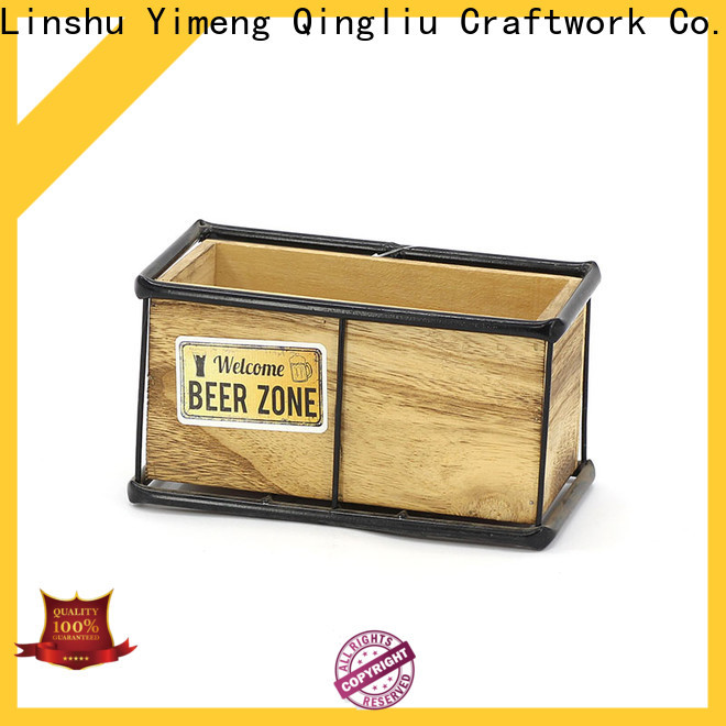 Yimeng Qingliu square wooden planters factory for outdoor