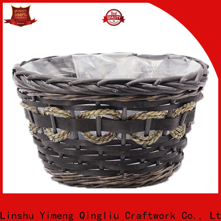 high-quality woven basket for plants for business for outdoor