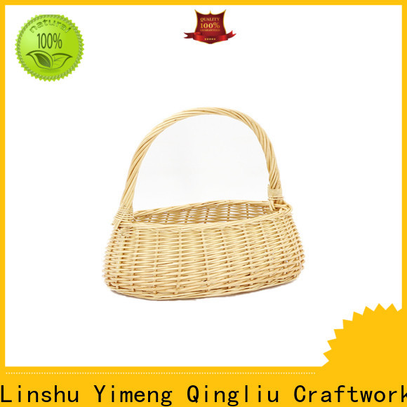 latest circle wicker basket suppliers for outdoor