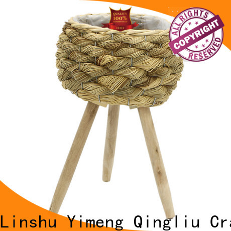 Yimeng Qingliu wholesale seagrass pots for business for outdoor