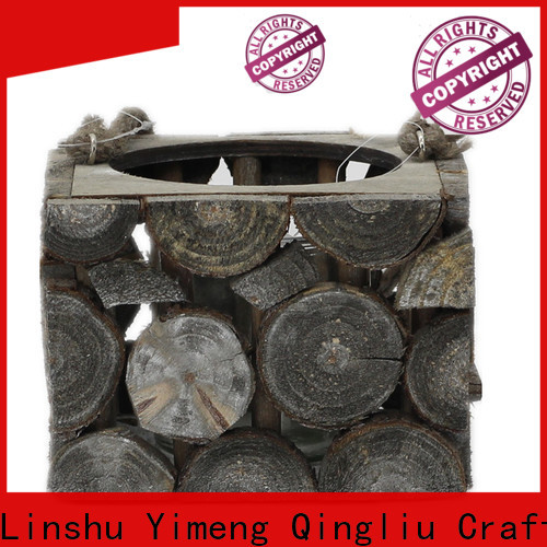 Yimeng Qingliu high-quality small wooden flower pots company for garden
