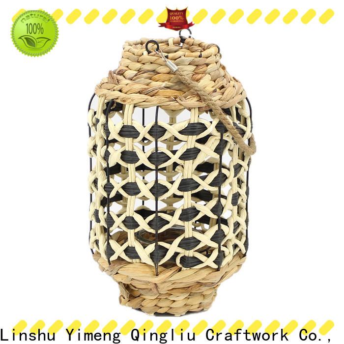 Yimeng Qingliu custom woven candle lantern for business for garden