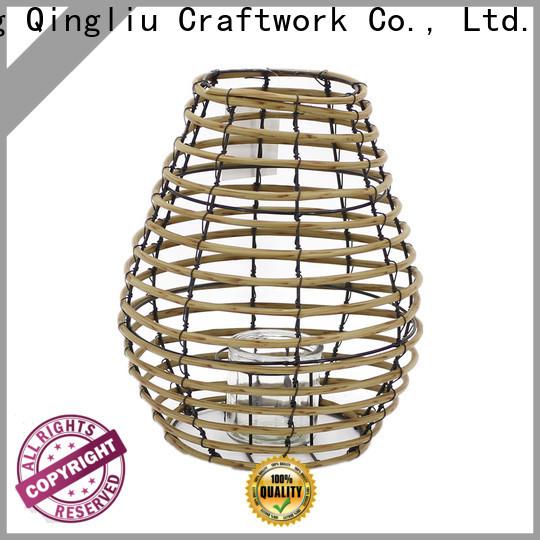 Yimeng Qingliu rattan lantern for sale for garden