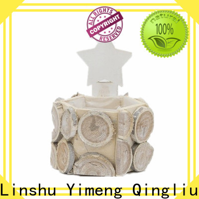 Yimeng Qingliu wood basket for fireplace for business for outdoor
