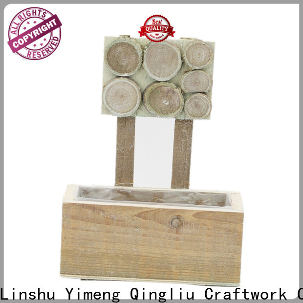 Yimeng Qingliu vintage wooden box for business for garden