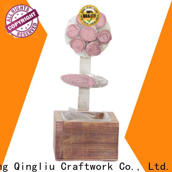 Yimeng Qingliu top custom wooden planters company for patio