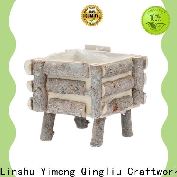 Yimeng Qingliu custom wooden planters factory for outdoor