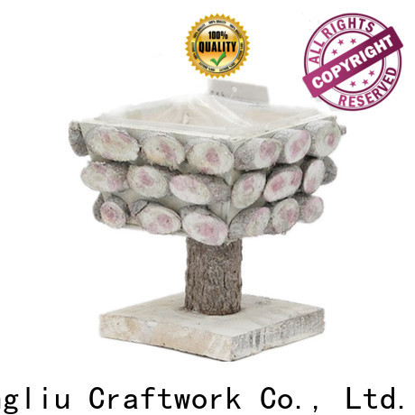 high-quality decorative wooden planters supply for patio
