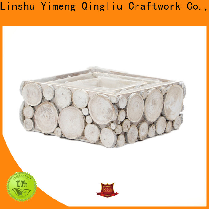 Yimeng Qingliu wooden beer crate company for patio