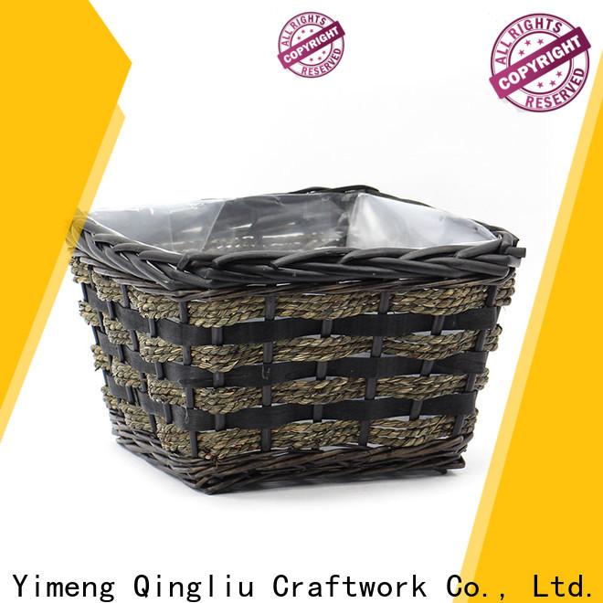 Yimeng Qingliu empty wicker hamper company for outdoor