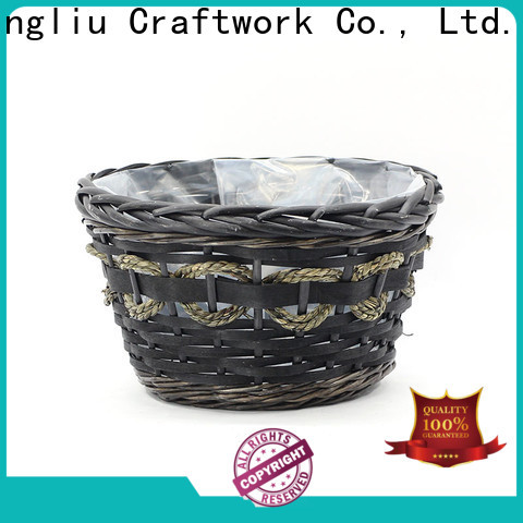 Yimeng Qingliu wicker storage boxes manufacturers for outdoor