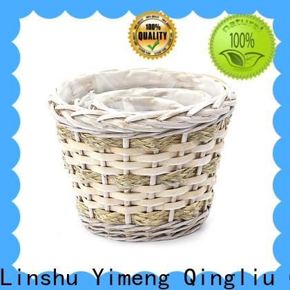 Yimeng Qingliu cheap rattan planters factory for indoor